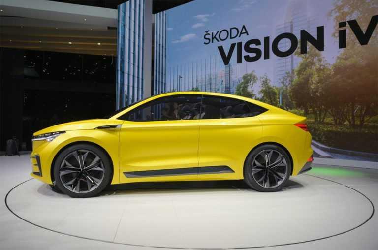 Опис автомобіля Skoda Vision iV Concept 2019