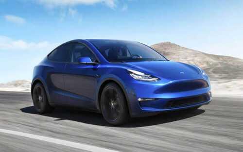 3601 Опис автомобіля Tesla Model Y 2020