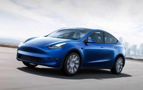 Опис автомобіля Tesla Model Y 2020