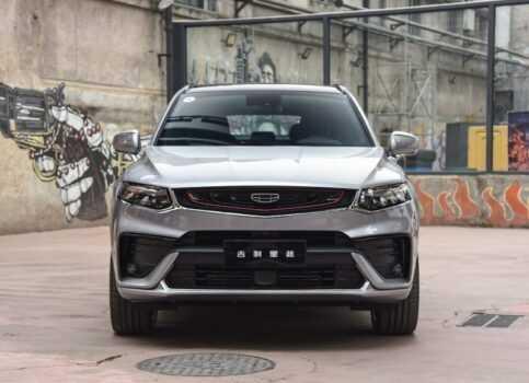 3717 Опис автомобіля Geely Xingyue 2019 - 2020