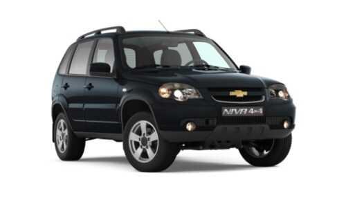 Опис автомобіля Chevrolet Niva 2019