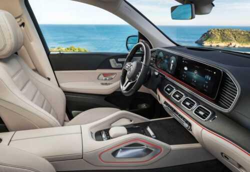 Опис автомобіля Mercedes-Benz GLS 2019 – 2020