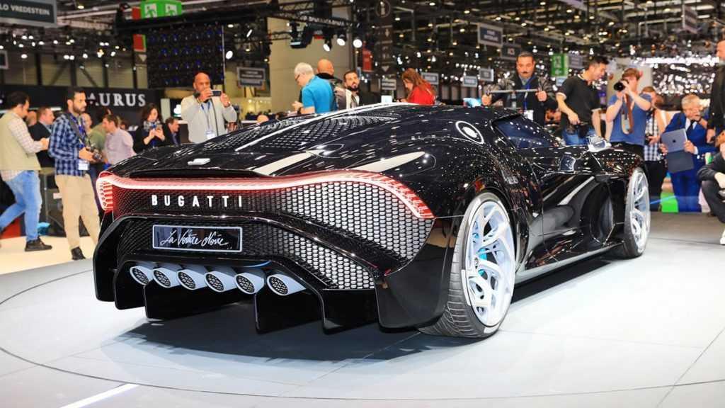 4076 Опис автомобіля Bugatti La Voiture Noire 2019 - 2020