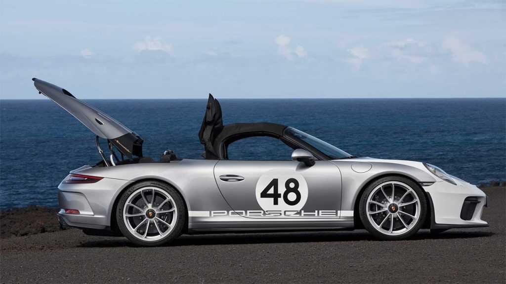 4072 Опис автомобіля Porsche 911 Speedster 2019