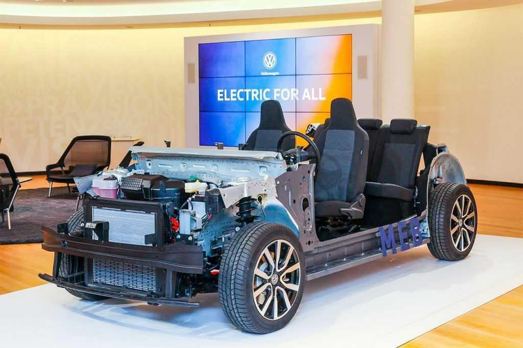 Опис автомобіля Volkswagen ID.3 2019 – 2020
