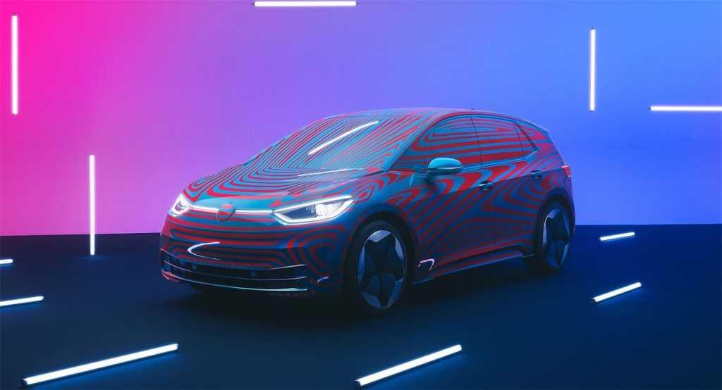 4034 Опис автомобіля Volkswagen ID.3 2019 - 2020
