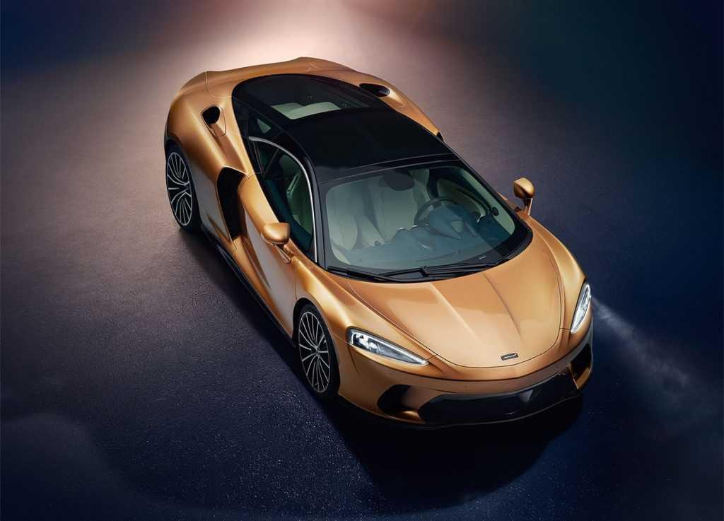 4010 Опис автомобіля McLaren GT 2019 - 2020