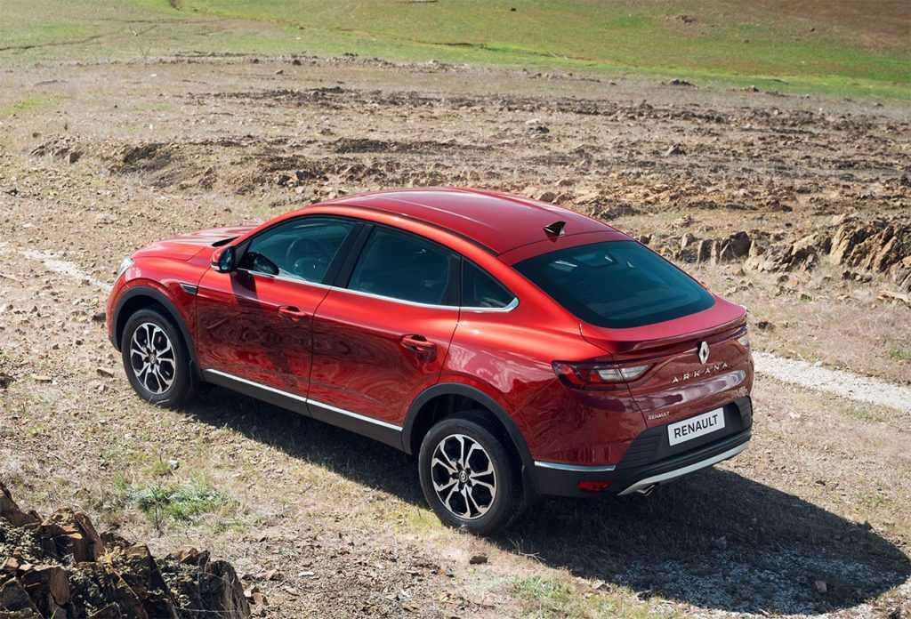 Опис автомобіля Renault Arkana 2020
