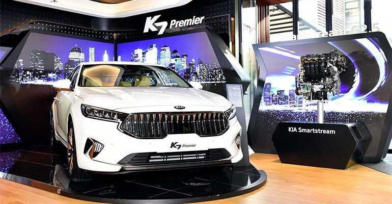 4233 Опис автомобіля Kia K7 Premier 2019