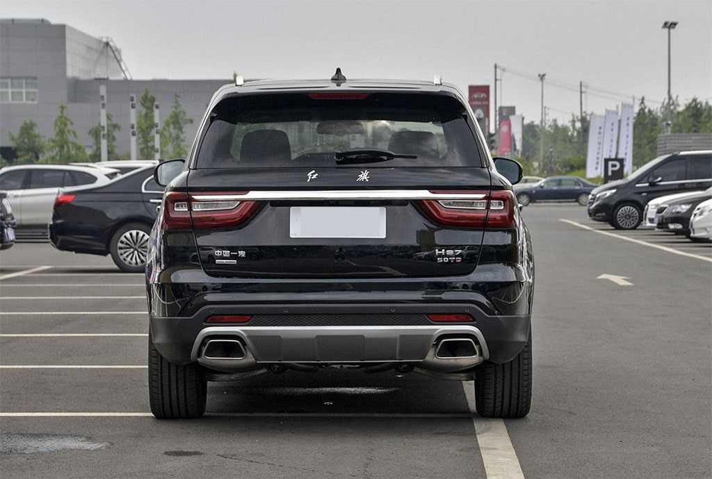 Опис автомобіля Hongqi HS7 2019