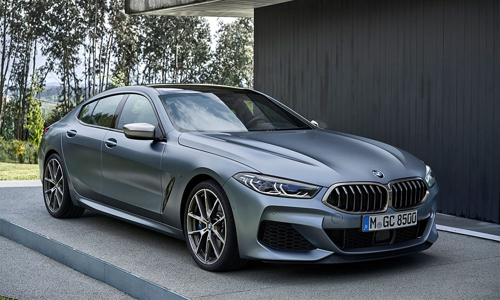 4164 Опис автомобіля BMW 8-Series Gran Coupe 2019