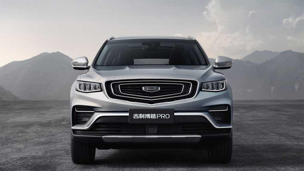 4121 Опис автомобіля Geely Boyue Pro 2019