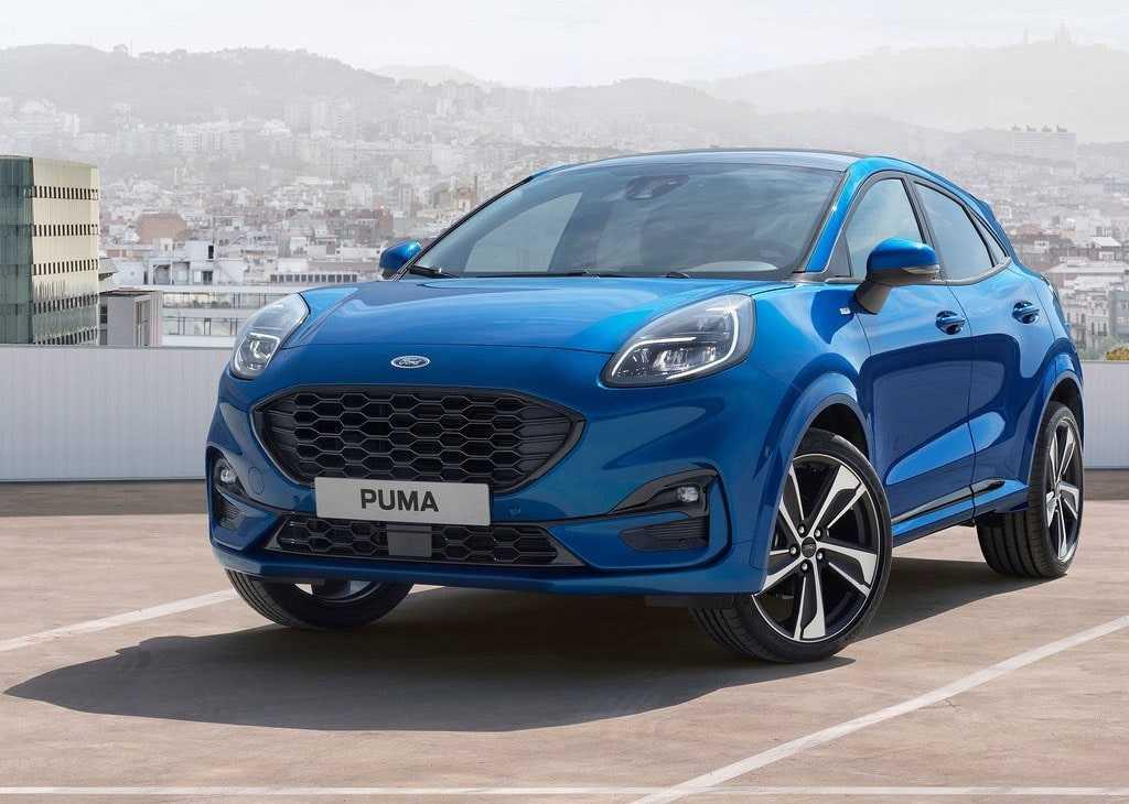 4098 Опис автомобіля Ford Puma 2019