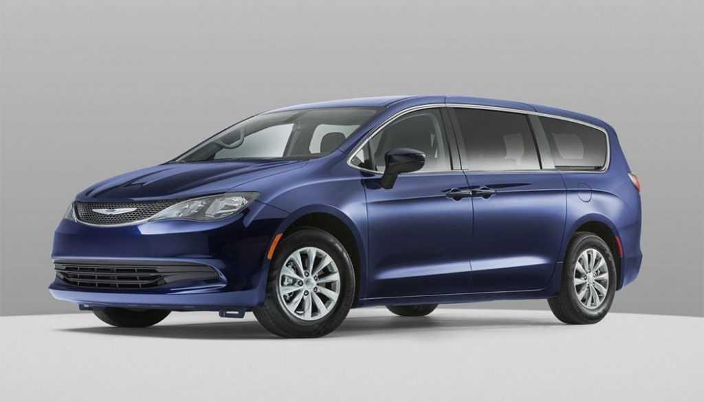 4370 Опис автомобіля Chrysler Voyager 2020