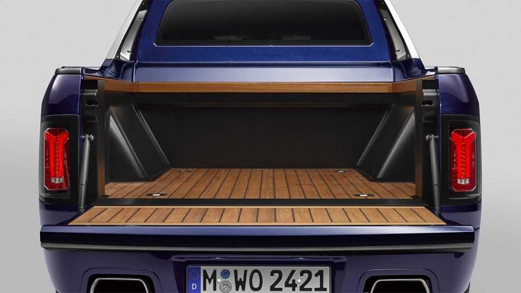 Опис автомобіля BMW X7 Pick-up 2019 – 2020