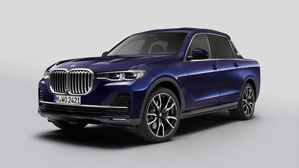 4313 Опис автомобіля BMW X7 Pick-up 2019 - 2020