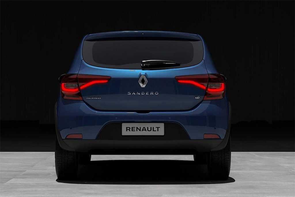 4304 Опис автомобіля Renault Sandero 2020