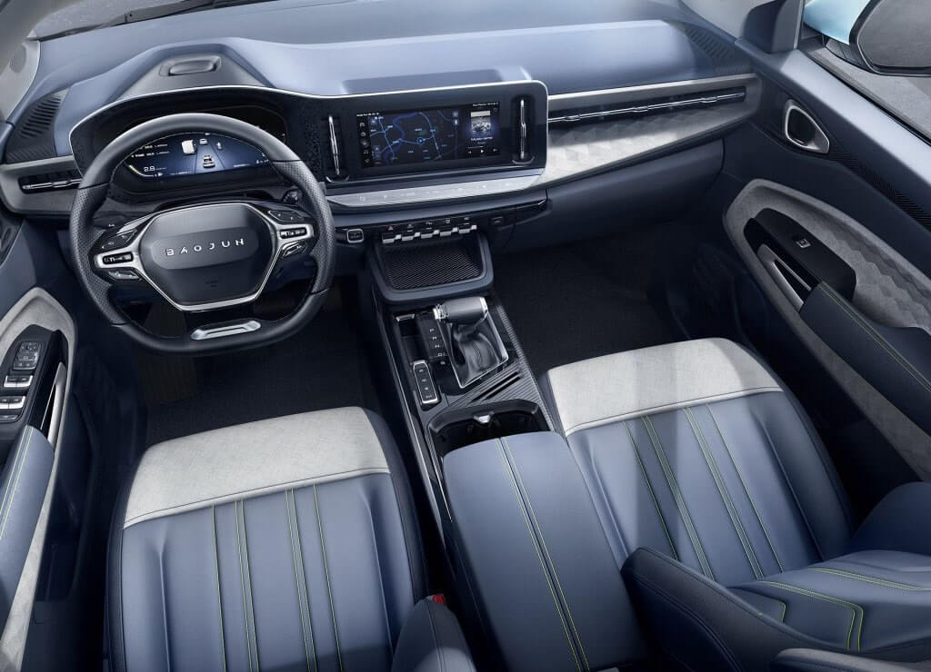Опис автомобіля Baojun RM-5 2019 – 2020
