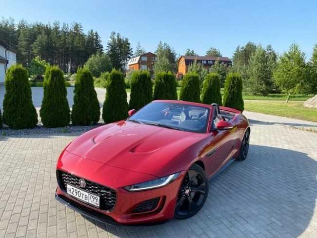 4385 Знесло башту: Jaguar F-Type Convertible. Jaguar F-Type Convertible