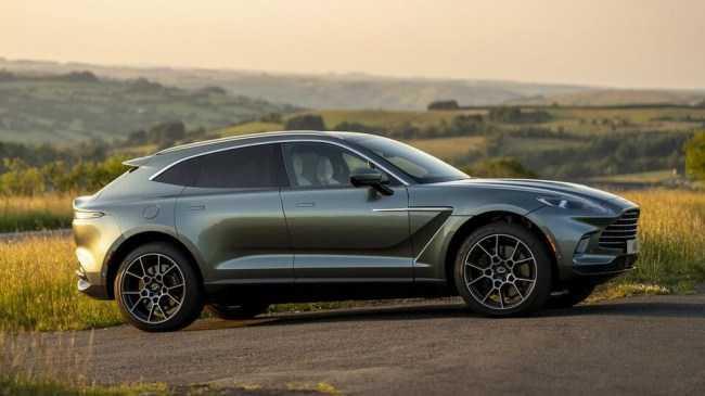 4454 Aston Martin DBX. Рисковый бизнес. Aston Martin DBX