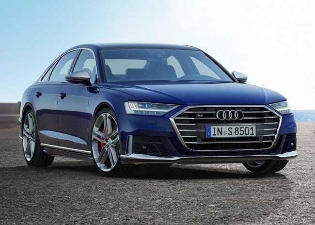 4448 Audi S8: мощный седан премиального уровня. Audi S8