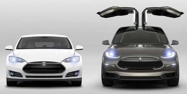 4470 Tesla Model X: Обыкновенное чудо. Tesla Model X