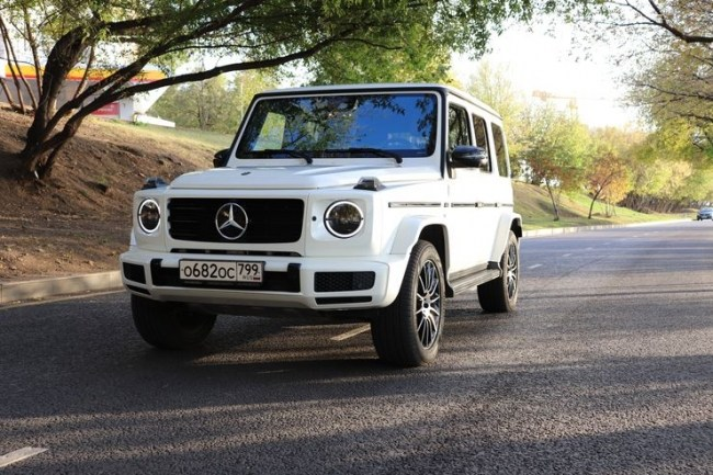 4502 Качок во фраке: Mercedes-Benz G 500. Mercedes G-Class (W463)