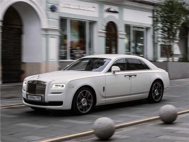 4488 Rolls-Royce Ghost - Антидепрессант. Rolls-Royce Ghost