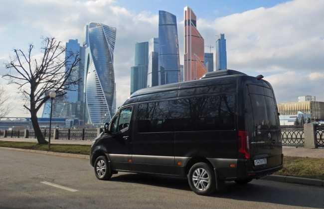 4555 Проект кортеж: Mercedes-Benz Sprinter Tourer. Mercedes Sprinter Tourer (W907)