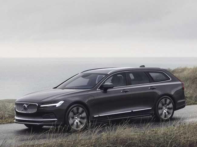 4551 Volvo V90: что изменилось?. Volvo V90
