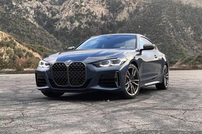 4639 Бабушка, почему у тебя такие ноздри? Тест новой «четверки» BMW. BMW 4 Series Coupe (G22)