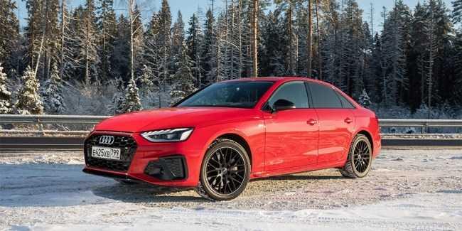 4617 Битва за свайп. Audi A4. Audi A4 (B9/8W)